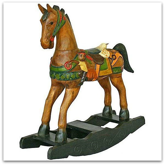 plan toys palomino rocking horse review