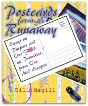 postcards book cover